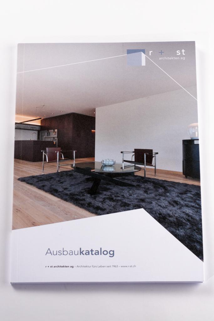Tanner Druck AG, Ausbaukatalog r+st Architekten