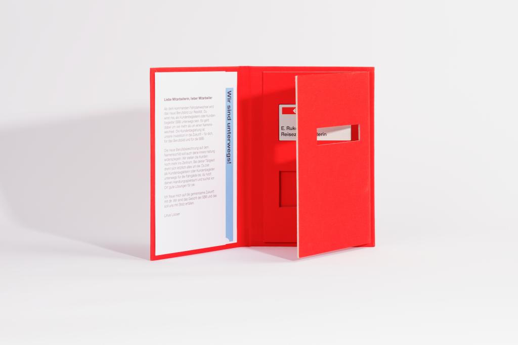 Tanner Druck AG, SBB Booklet