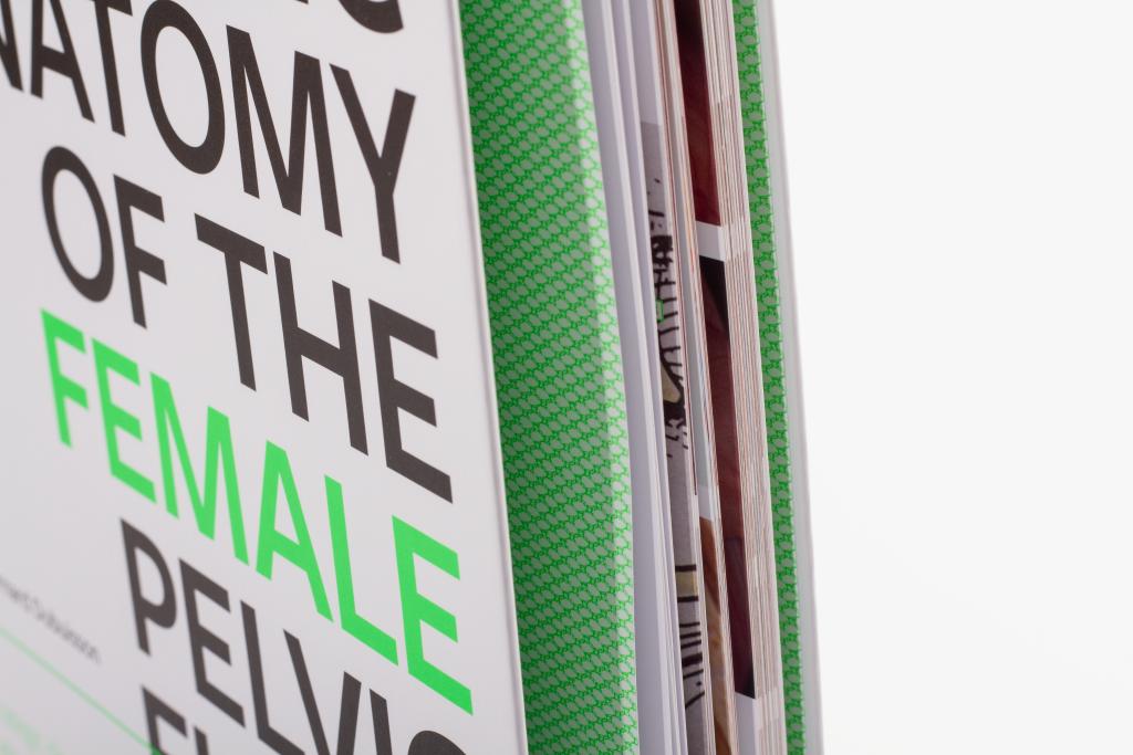 Tanner Druck AG, Buch The anatomic of the female pelvic floor