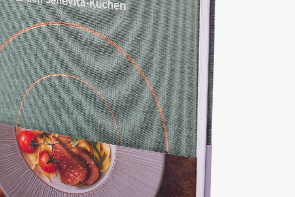 Tanner Druck AG, Kochbuch Lieblingsrezepte Senevita