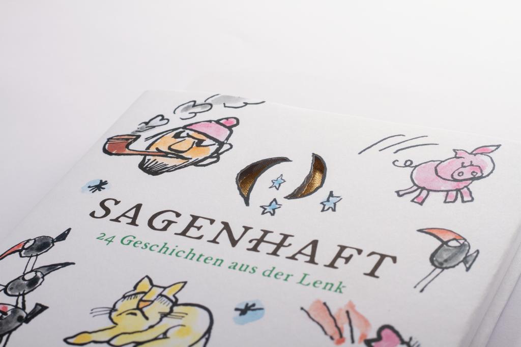 Tanner Druck AG, Buch Sagenhaft