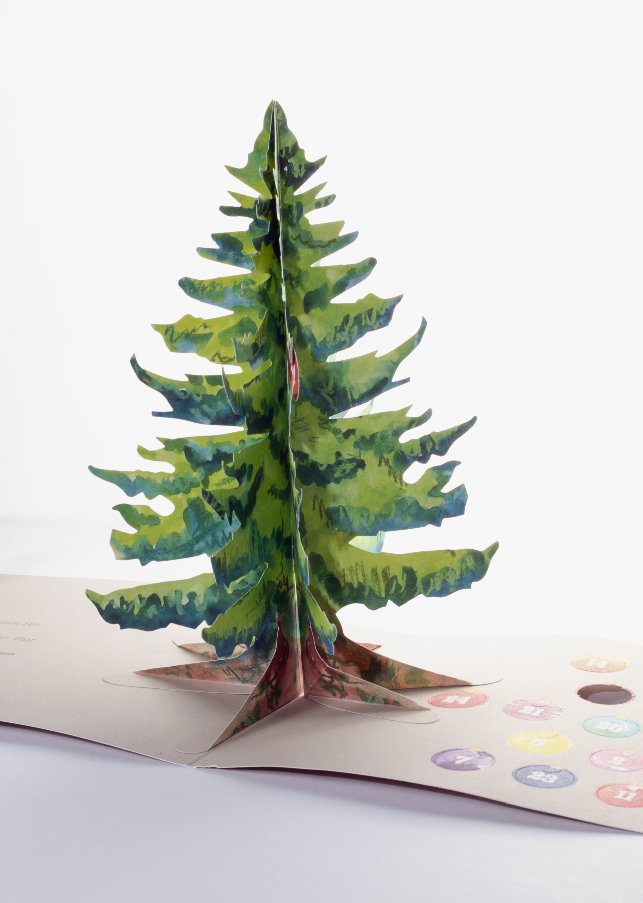 Tanner Druck AG, Pop-up Tannenbaum Adventskalender