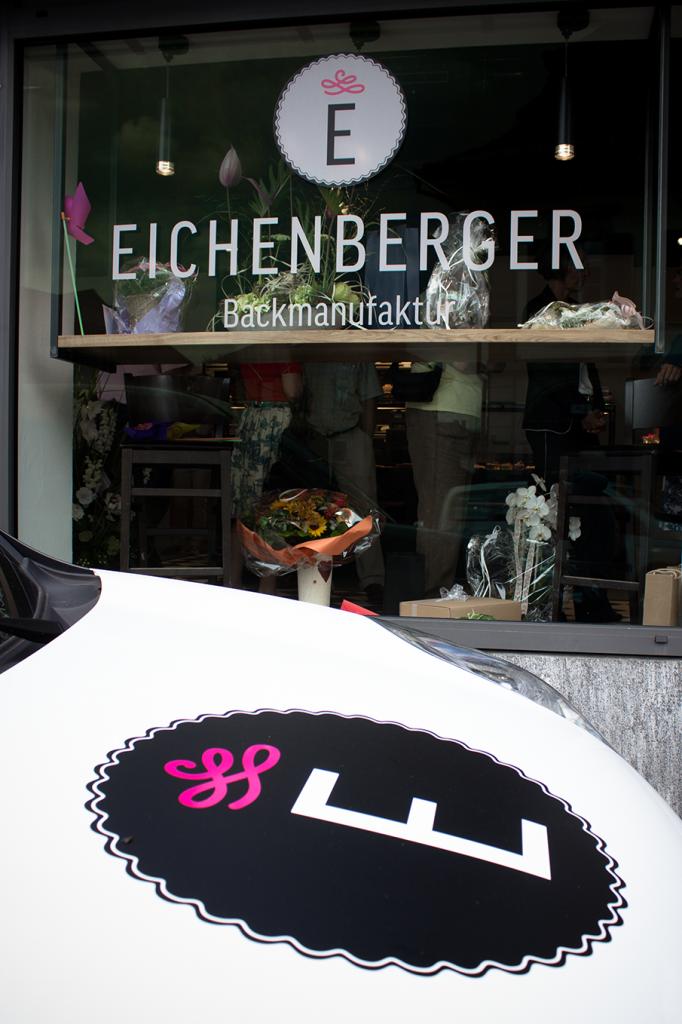 Tanner Druck AG, Bäckerei Eichenberger Fahrzeugbeschriftung