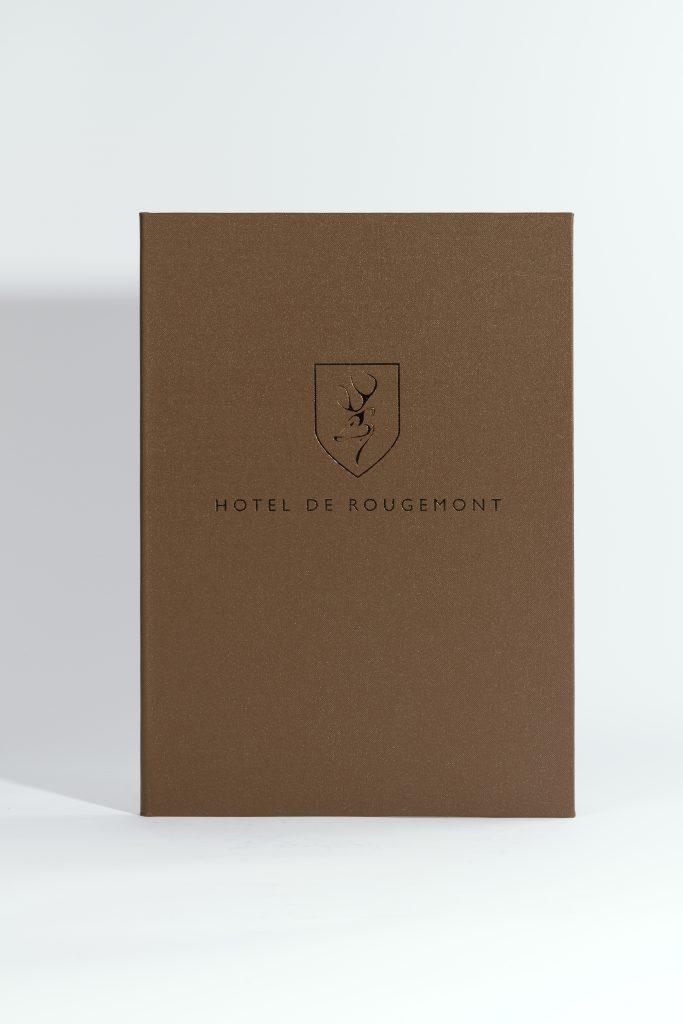 Hotel de Rougement Speisekarte
