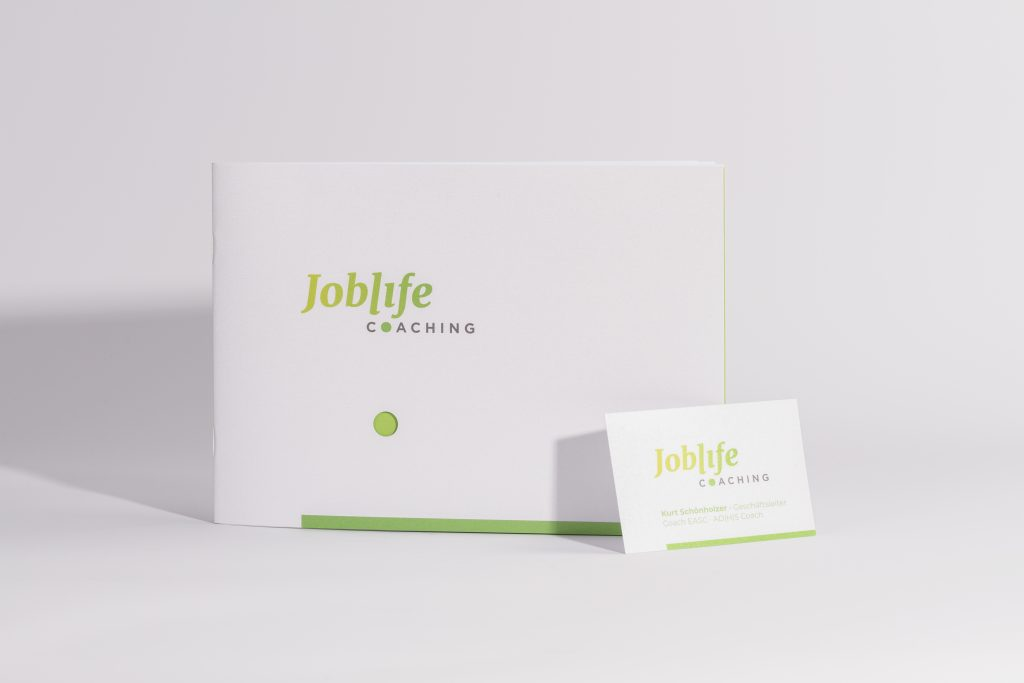 Joblife Coaching Broschüre