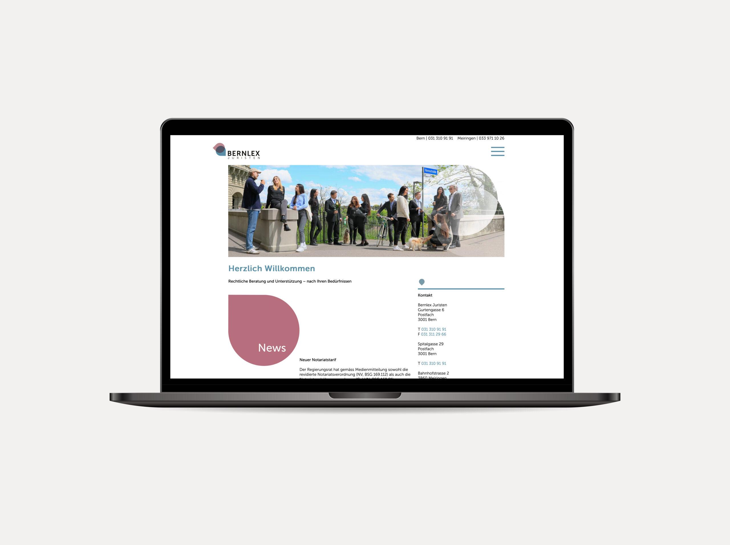 Bernlex Website