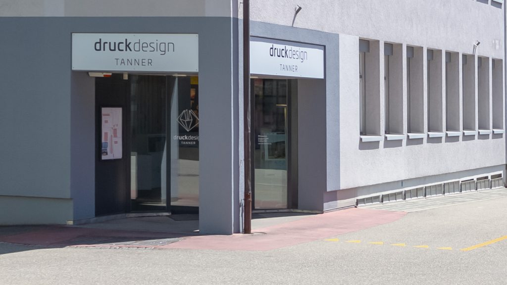 Tanner Druck AG, Eingang Marktstrasse