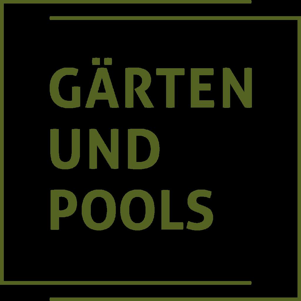 Tanner Druck AG, Logo Gärten und Pools