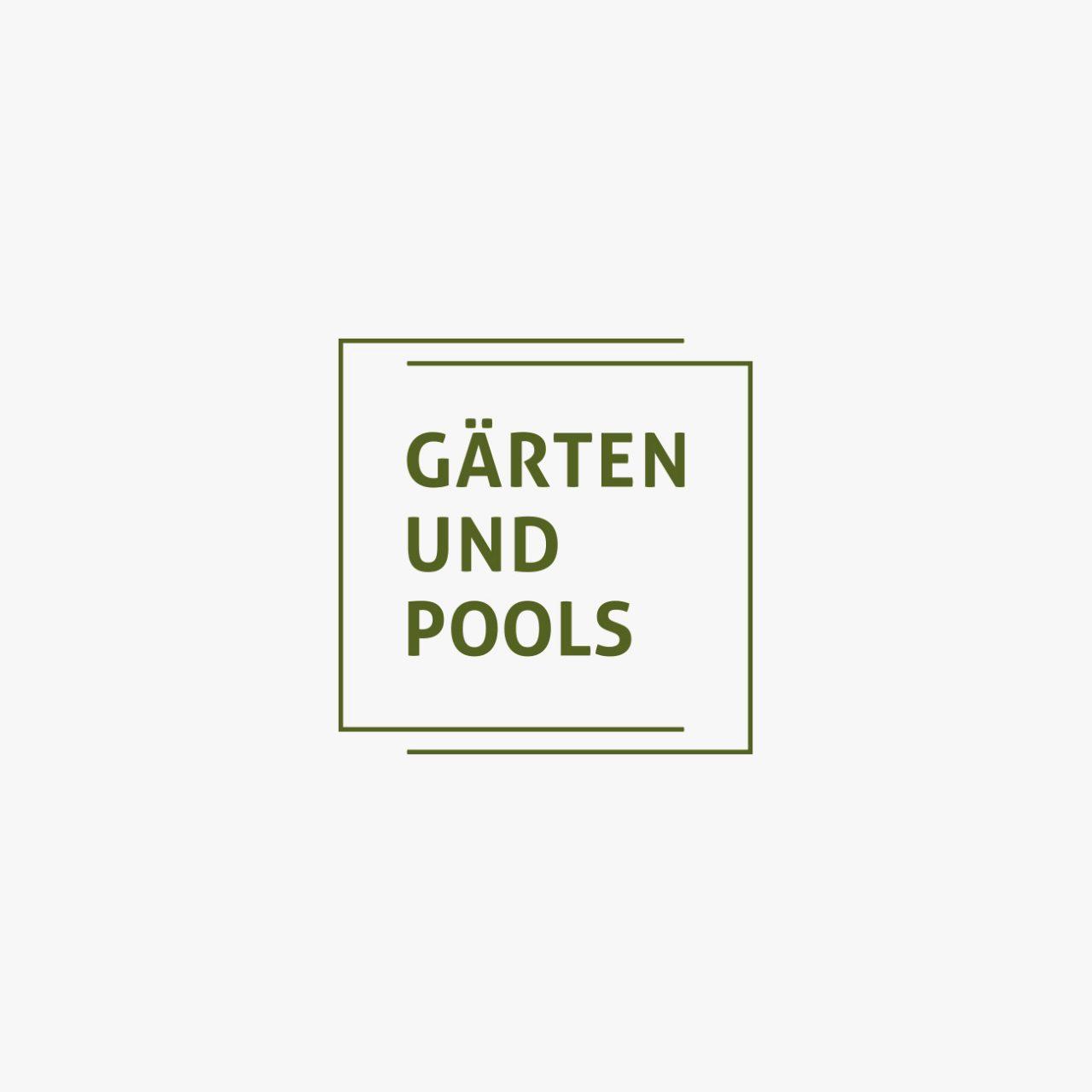 Tanner Druck AG, Gärten und Pools Logo