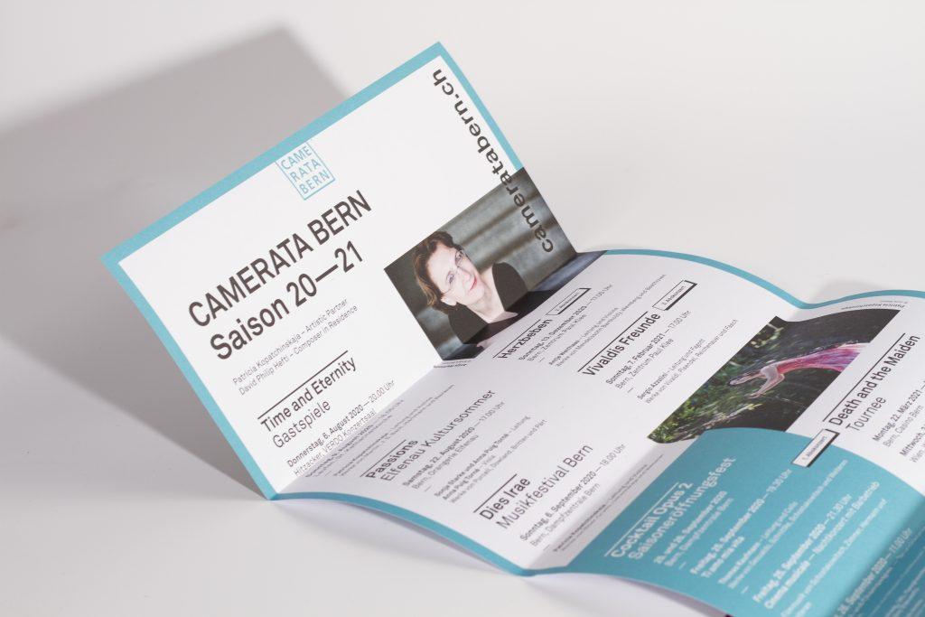 Programm für Stiftung Camerata Bern