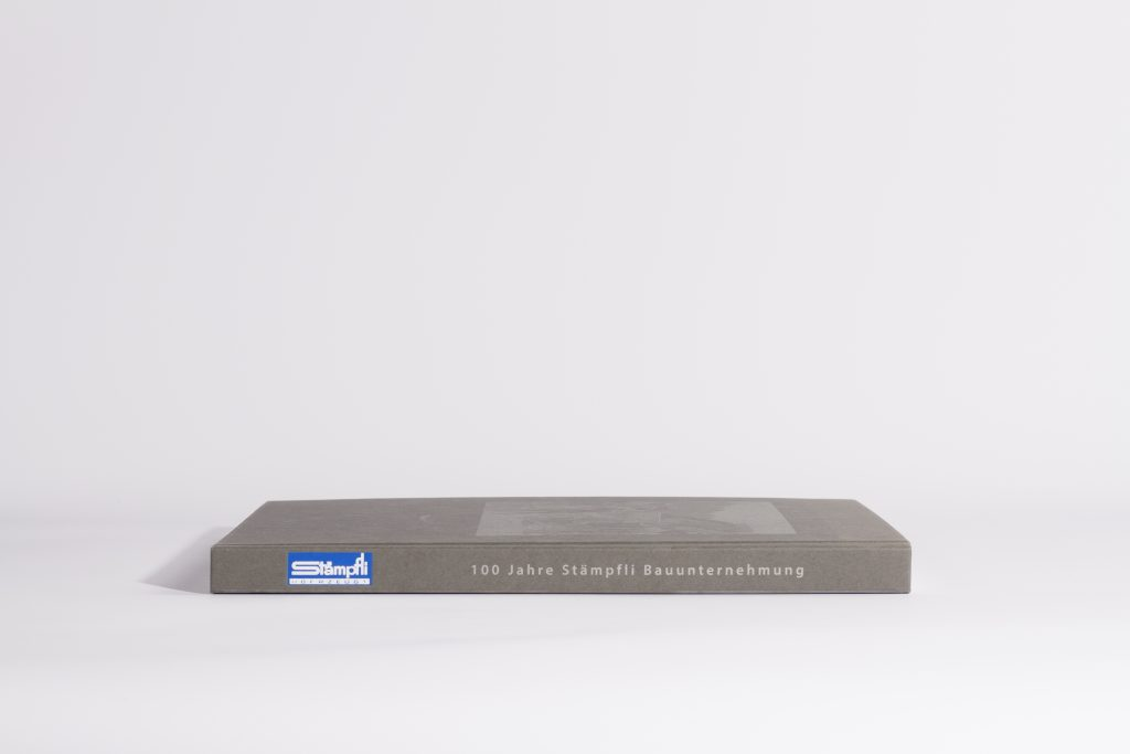 Stämpfli BAG Bauunternehmung, Jubiläumsbuch