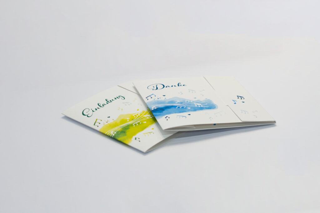 Tanner Druck AG, Karten zur Hochzeit