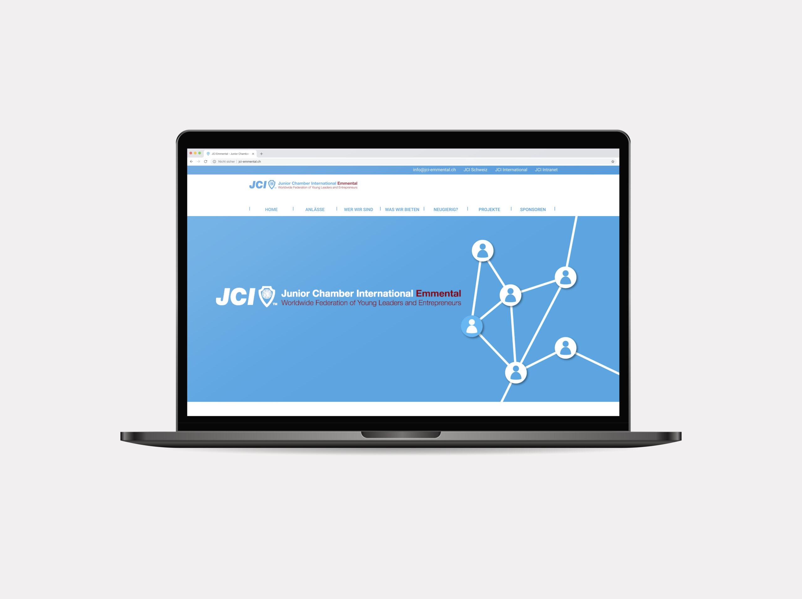 Tanner Druck AG, Website JCI Emmental