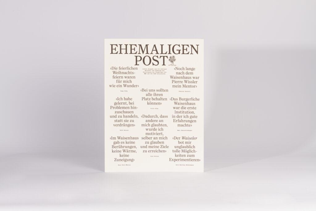 Ehemaligen Post der Burgergemeinde Bern