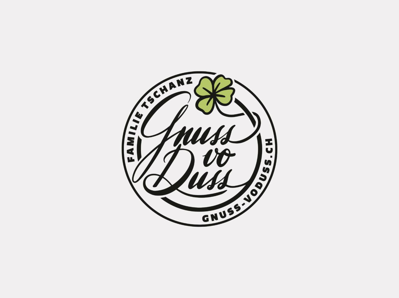 Logo Gnuss vo Duss